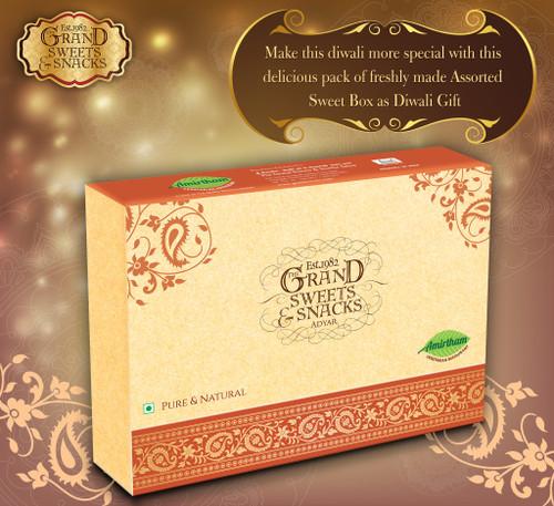 Grand Sweets Assorted Diwali Sweets Box