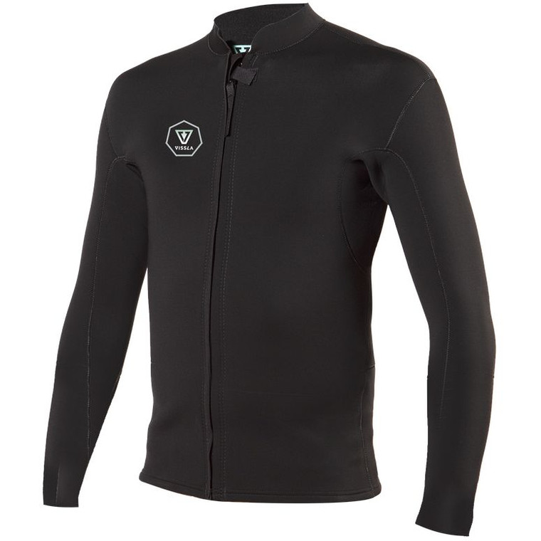 2Mm Front Zip Jacket MW02OFZJ MW02OFZJ WETSUIT   SPRING/TOP