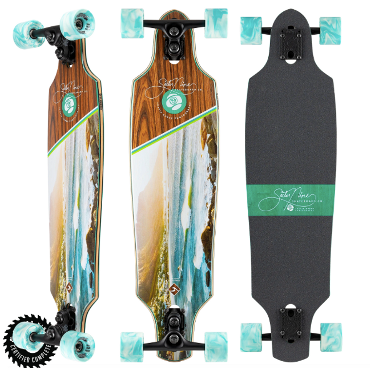 Cape Roundhouse COMPLETE SKATE     CRUISER