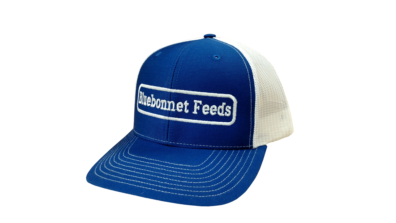 Bluebonnet Feeds Trucker Hat - Bluebonnet Feeds 6afbebdb020a