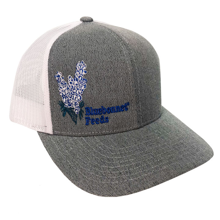 a56a2f0d Bluebonnet Feeds Retro Mesh Back Hat - Bluebonnet Feeds
