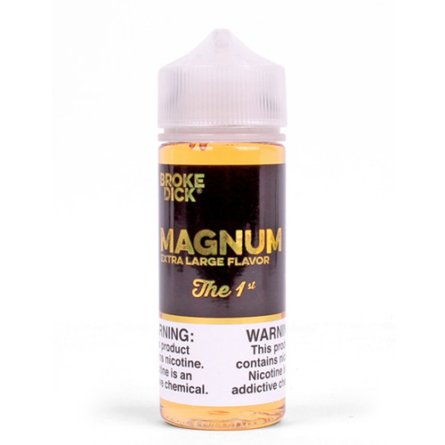 the 1st magnum cream and strawberry vape juice