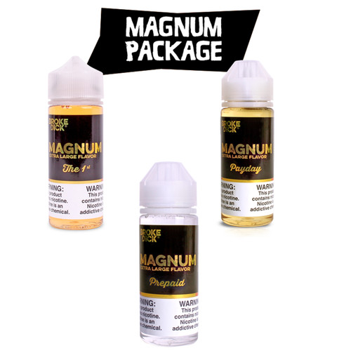 magnum broke dick vape juice