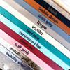 Personalized leather bracelets.