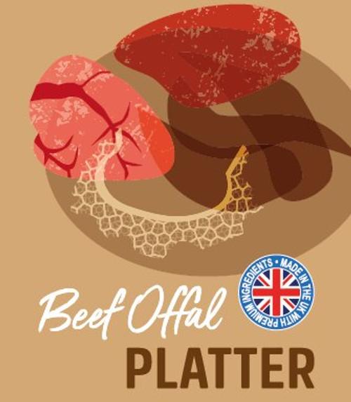 Raw Menu Beef Platter 500g