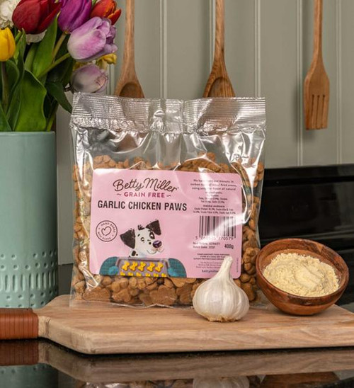 Betty Miller Garlic Chicken Paws 400g