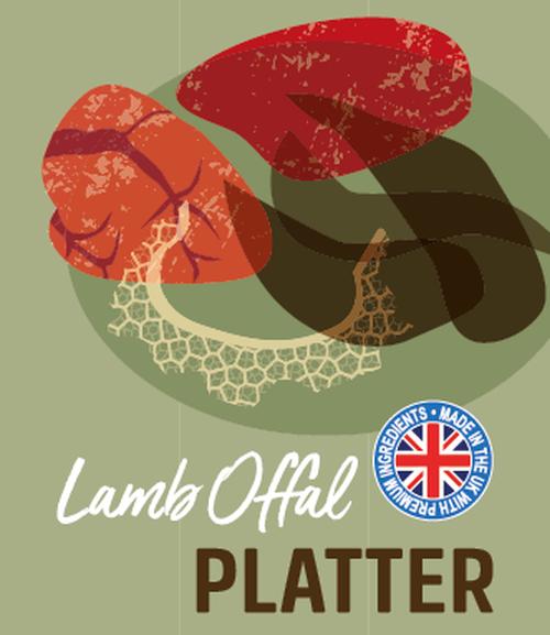 Lamb Offal Platter 500g