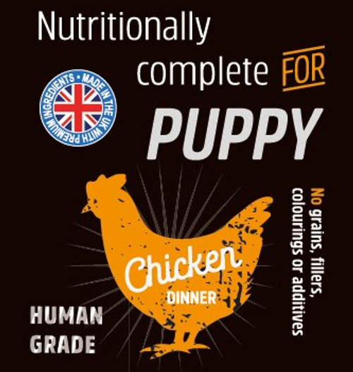 Raw Menu Puppy Chicken 500g