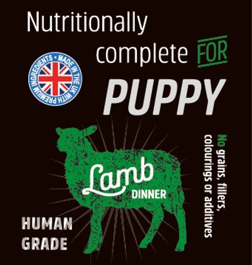 Raw Menu Puppy Lamb 500g