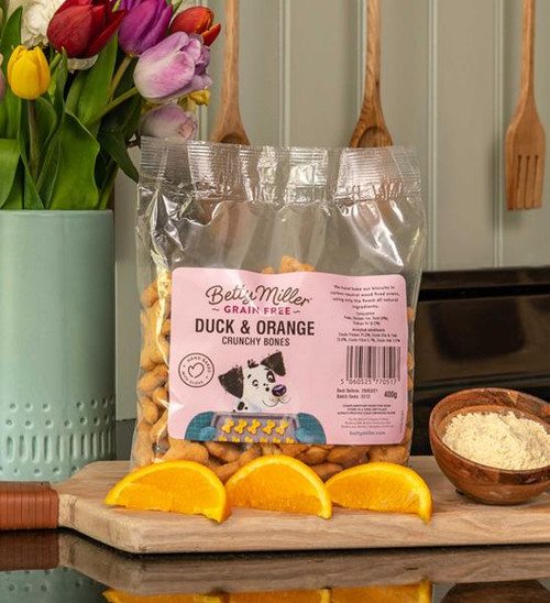 Betty Miller Duck & Orange 400g