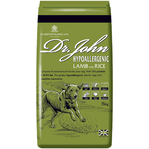 Dr. John Hypoallergenic Lamb with Rice