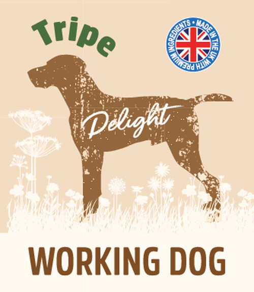 Raw Menu Working Dog Tripe Delight 500g