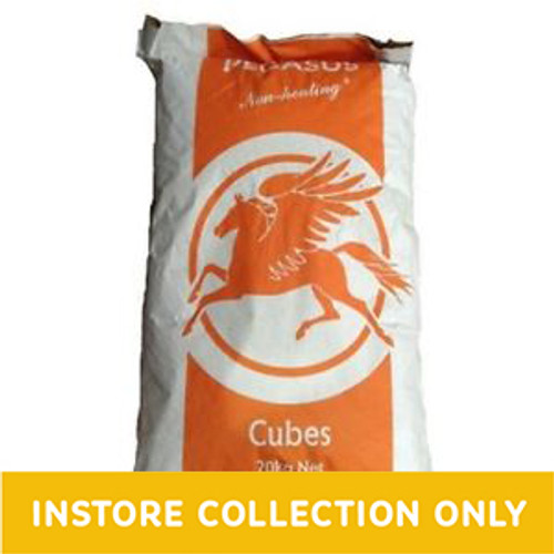 Pegasus Value Cubes are a basic horse and pony feed that are ideal for horses in light to medium work.