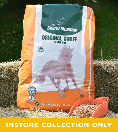 Sweet Meadow Original Chaff as its name suggests was one of the first bagged fibre products ever produced and has evolved into the superior quality, lightly coated chaff used in feed rooms across the U.K today.