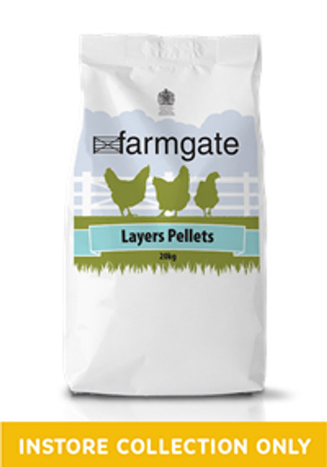 Layers Pellets contain optimum levels of calcium, phosphorus and Vitamin D3 for bone strength, good shell quality, rich yellow yolk colour, high egg numbers and excellent egg size. Feed from up to four weeks before onset of lay, throughout the laying period until depletion.