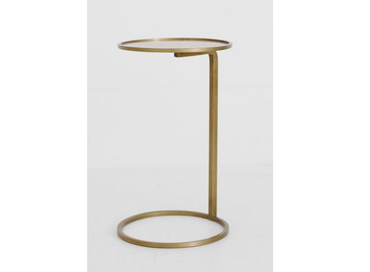 Awe Inspiring Couch Side Table In Brass Ibusinesslaw Wood Chair Design Ideas Ibusinesslaworg