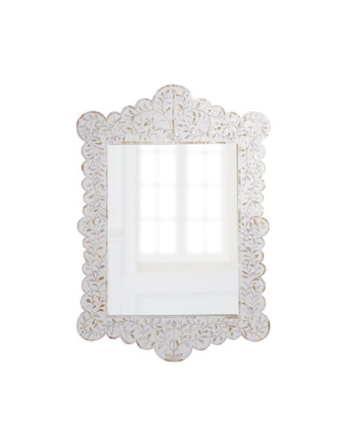 Bandhini Design Mother Of Pearl Artwork 679 Liked On: Adorn Any Wall With Luxury & Timeless Mirrors