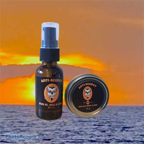 Anti-Scurvy Oil and Balm Package