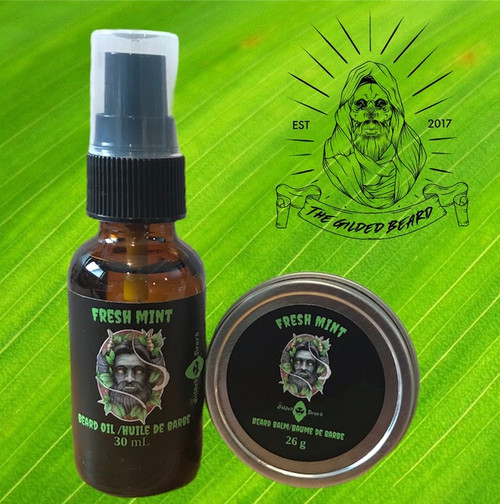 Fresh Mint Oil and Balm Package