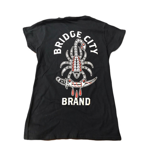 Bridge City Brand Ladies Scorpion Blade T-Shirt