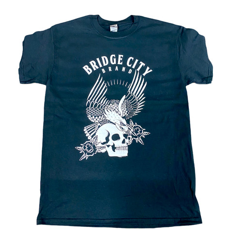 Bridge City Brand Eagle Men's Black T-Shirt