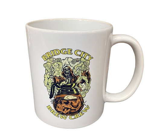 "Bridge City Brand ""Brew Crew' Coffee Mug"