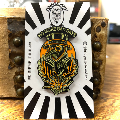 Bridge City Brand Plague Doctor Enamel Pin
