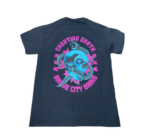 Bridge City Brand Cheating Death T—Shirt
