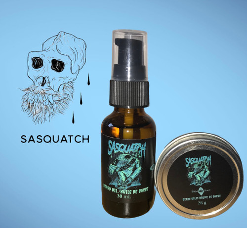 Sasquatch Beard Oil and Balm Combo