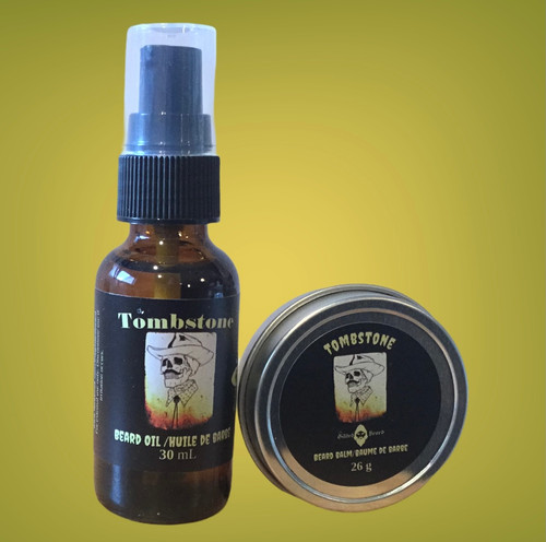 Tombstone Beard Oil and Balm Combo