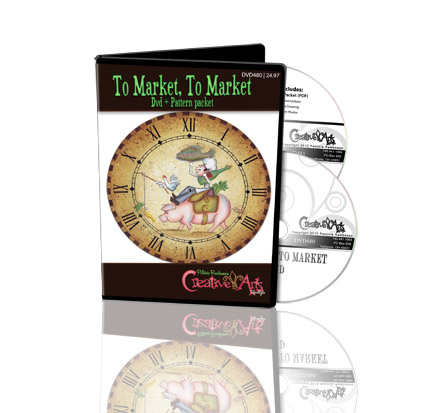 To Market, To Market DVD & Pattern Packet - Patricia Rawlinson