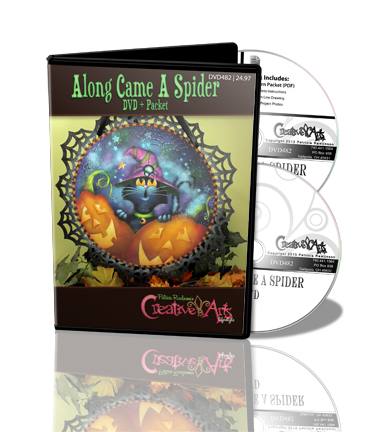 Along Came a Spider DVD & Pattern Packet - Patricia Rawlinson