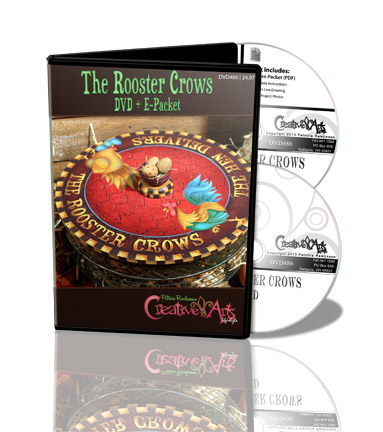 The Rooster Crows DVD & Pattern Packet - Patricia Rawlinson