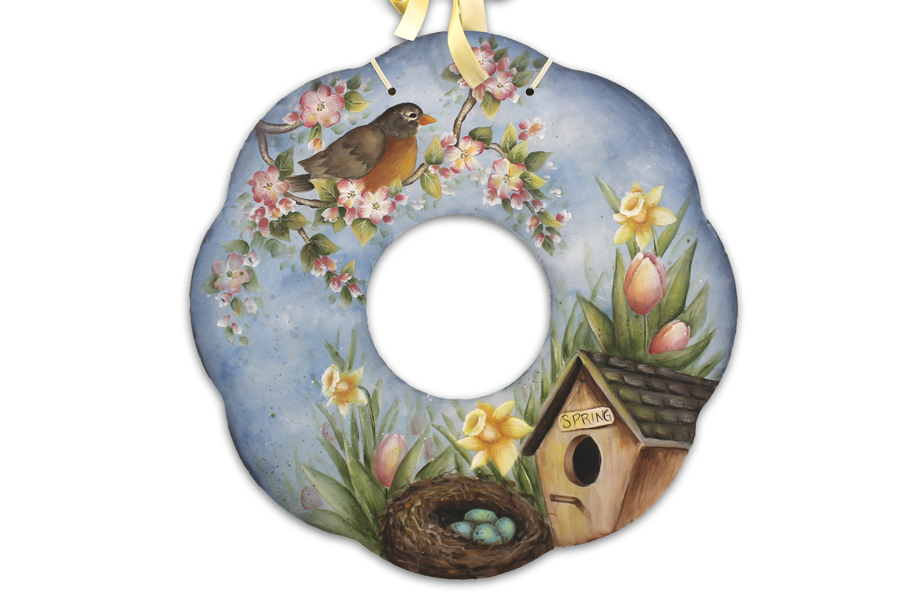 Signs Of Spring Wreath DVD & Pattern Packet - Patricia Rawlinson