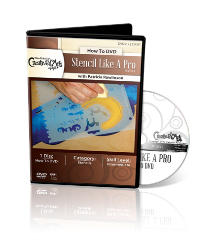 Stencil Like a Pro DVD - Patricia Rawlinson