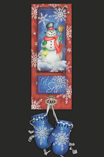 Let It Snow DVD & Pattern Packet - Patricia Rawlinson