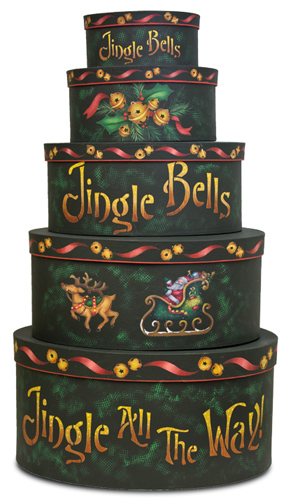 Jingle All the Way DVD & Pattern Packet - Patricia Rawlinson