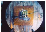 Barn Wood Clock/Silent Night packet - Patricia Rawlinson