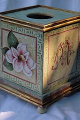Magnolia Tissue Box Pattern Packet - Patricia Rawlinson