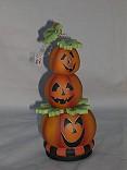 3 Pumpkin Heads packet - Patricia Rawlinson