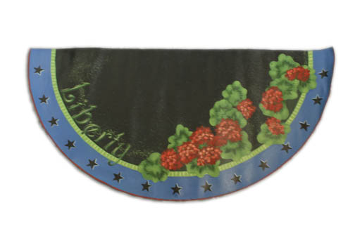 Geranium Floor Cloth packet - Patricia Rawlinson