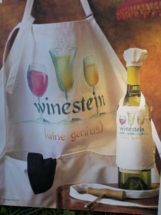 Winestein Apron packet - Patricia Rawlinson