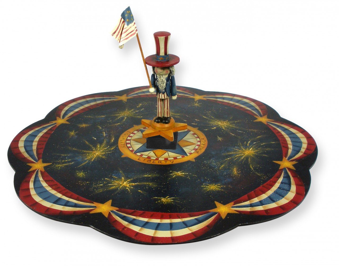 Star Spangled Lazy Susan packet - Patricia Rawlinson