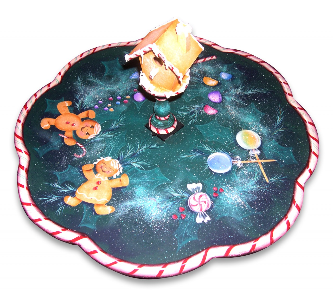 Christmas Treats Lazy Susan packet - Patricia Rawlinson