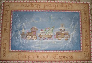 Gingerbread Express packet - Patricia Rawlinson
