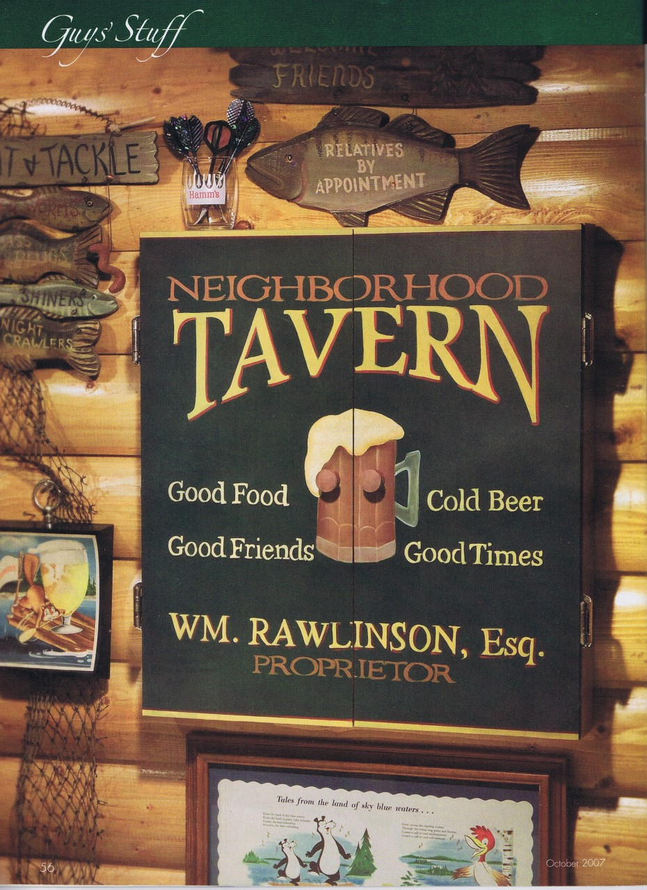 Tavern Sign packet - Patricia Rawlinson