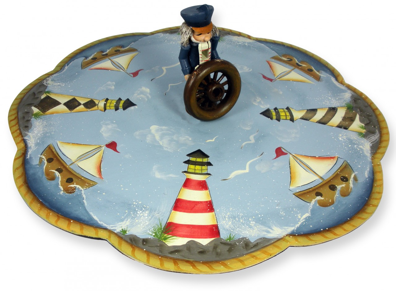 Lighthouse Lazy Susan packet - Patricia Rawlinson
