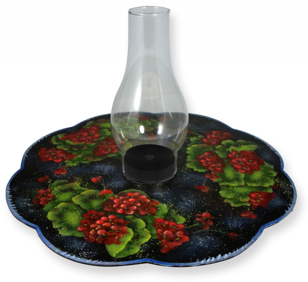 Geraniums Lazy Susan packet - Patricia Rawlinson