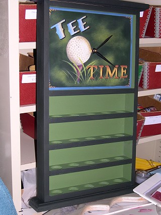 Tee Time packet - Patricia Rawlinson