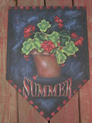 Geraniums Summer packet - Patricia Rawlinson